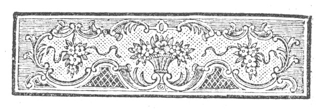 An old floral book header